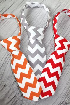 Newborn Baby Boy Chevron Neckties for Photo by StarSistersDesigns, $12.00