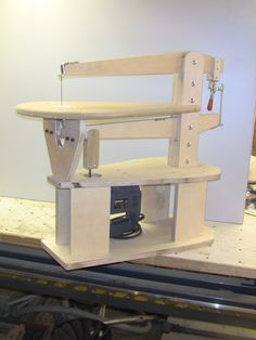 Building the Scrollsaw – Bellevue Woodshop Woodworking Hand Tools, Woodworking Store, Wood Tools, Woodworking Crafts, Woodworking Plans, Tool Sheds, Homemade Tools, Wooden Puzzles, Wood Plans