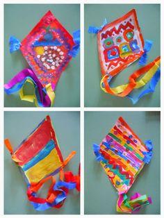 Kindergarten Art Class: ΧΑΡΤΑΕΤΟΙ