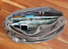 Tutorial purse organizer