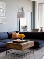 This East Village Apartment Went From Bachelor Pad To Couple's Paradise #refinery29  http://www.refinery29.com/homepolish-village-blues