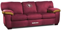 San Francisco 49ers Sofa - Nice Forty Niners Couch to watch the 49er game