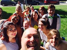 Wedding Selfie. Baylis Park. Council Bluffs