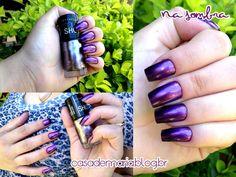 Esmalte Maybelline Color Show Amethyst Ablaze www.blogcasademaria.com.br