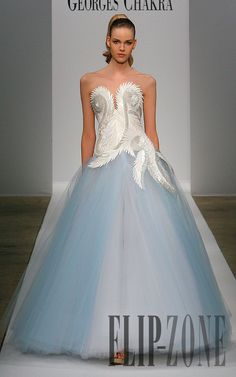 Georges Chakra – 83 photos - the complete collection Blue Eyed Baby, Georges Chakra, Here Comes The Bride, Formal Dresses, Wedding Dresses, Giorgio Armani, New Dress, Wedding Styles, Ball Gowns