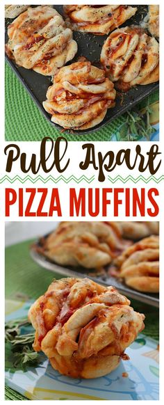 Quick, easy and bursting with pizza flavor, these easy-to-make Pull Apart Pizza … Quick, easy and bursting with pizza flavor, these easy-to-make Pull Apart Pizza muffins are easy to customize with your favorite pizza toppings! Pizza Flavors, Pizza Recipes, Vegetarian Recipes, Healthy Recipes, Healthy Pizza, Healthy Life, Healthy Food, Pull Apart Pizza, Piece Of Pizza