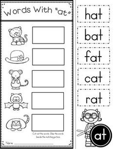Free word family worksheets free phonics worksheets, kindergarten english w Phonics Worksheets, Reading Worksheets, Kindergarten Worksheets, Printable Worksheets, Free Printables, Rhyming Worksheet, Seasons Worksheets, Sight Word Worksheets, Science Worksheets