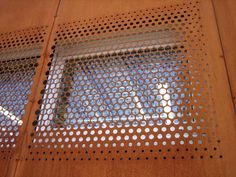 corten perforated metal texture - Google Search