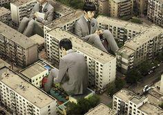 Amazing Photo Manipulations by Chunlong Sun – Inspiration Grid | Design Inspiration