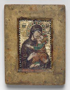 Portable Icon with the Virgin Eleousa