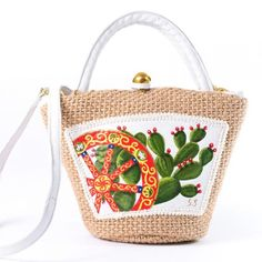 Cactus Decor, Flower Coloring Pages, Amazon Fba, Sicily, Caricature, Straw Bag, Decoupage, Stencils, Diy And Crafts