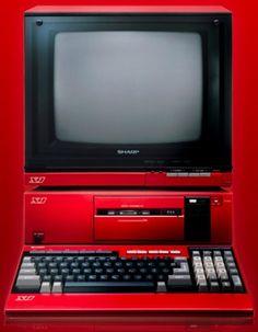 Sharp X1 Z-80-based computer