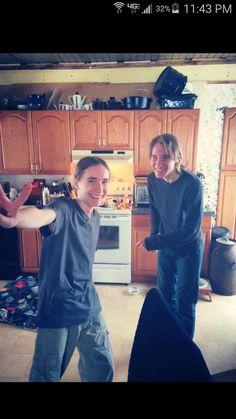 Sawyer and Aric