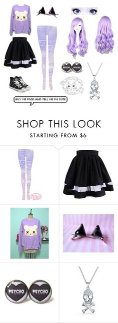 """""""Pastel goth tag"""" by midsummeroverture ❤ liked on Polyvore featuring KEEP ME, Bling Jewelry and yeswalker"""
