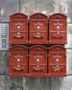 Cassette postali / mailboxes #TuscanyAgriturismoGiratola