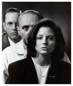 Silence of the Lambs - Look at Anthony Hopkins' eyes!