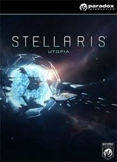 Stellaris - Utopia  Description: The stars have called you for millennia and now you walk among them. A universe of possibilities is open to your species as it takes its first fitful steps into the great unknown. Here you can turn your back on the divisive politics of the home planet.  Price: 19.99  Meer informatie  #Voidu