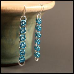 Offset two in two celtic earrings