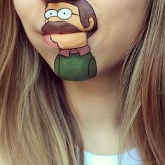 Mouth Painting By Laura Jenkinson Body Paint Pinterest - Laura jenkinson mouth painting
