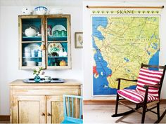 Home Tour: Colourful Country, Scandi Style