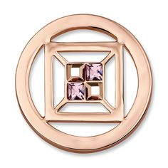 Mi Moneda Cubo - Rose Gold Tone - Small