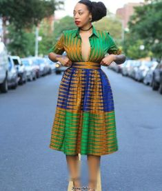 African Ankara Combinations Style and Iro & Buba - Reny styles African Print Clothing, African Print Dresses, African Fashion Dresses, African Dress, African Prints, African Inspired Fashion, African Print Fashion, Africa Fashion, Fashion Prints