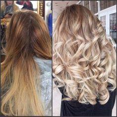 MATRIX Корни sc 506na +6% Полотно: осветление пудрой Lightmaster 6+9% 1:1,ранее осветлённые волосы рассветлили пудрой Lightmaster 3% Совмещены техники мелирование и техника свободной руки. Тонирование верхней зоны cs 8a-30гр 10p-10гр +2,7% Тонирование концов cs spv- 40гр 10p-20 гр clear-10гр Colored Curly Hair, Long Curly Hair, Curly Hair Styles, Mom Hairstyles, Summer Hairstyles, Wella Koleston Perfect, Matrix Hair, Matrix Color, Shaved Hair