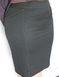 Available @ TrendTrunk.com Black Classic Skirt. By Bianca Nygard. Only $33.00!