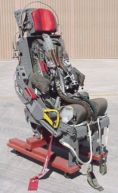 Republic F-105 Thunderchief seat: The Ejection Site