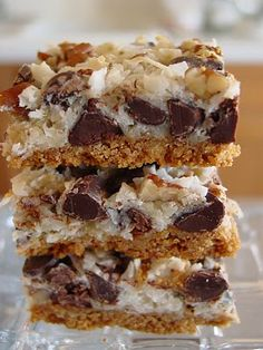 Magic Cookie Bars - making these for Christmas!