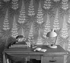 Foxglove - modern wallpaper by MissPrint