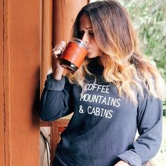 My friend @torysavannah sent me one of her signature tanks.. It's pure hipster perfection… These new sweat shirts are equally perfect. Oh and look at that mug by @loyalstricklin. What a perfectly perfect combination. #buyfolk  (at liveauthentic.us)