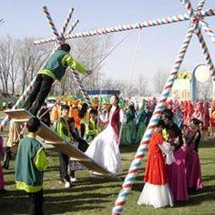 Republic of Kazakhstan, celebrating Nauryz.