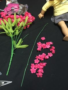 Make a Flower Crown for Dolls