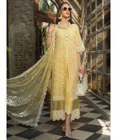 Pakistani Suits Chikankari Eid Festive By Zainab Chottani Best Designer Suits, Pakistani Designer Suits, Pakistani Suits, Designer Dresses, Designer Wear, Latest Pakistani Fashion, Pakistani Couture, Latest Fashion Dresses, Fashion Outfits