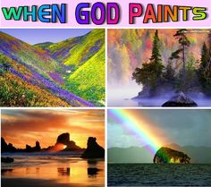 Beautiful Rainbows | ... any signs of the hideous perverts in these pictures of Real Rainbows