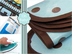 Oh Baby! with Fabric.com: How To Turn Any Fabric Into A Laminate With Iron-On Vinyl