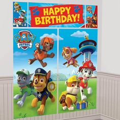 PAW Patrol Scene Setter from BirthdayExpress.com