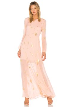 fe572ae1eec online shopping for For Love   Lemons Gilded Star Maxi Dress from top store.  See new offer for For Love   Lemons Gilded Star Maxi Dress