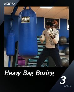 Heavy Bag Boxing - Healty fitness home cleaning Boxing Workout With Bag, Boxing Workout Routine, Boxing Training Workout, Punching Bag Workout, Heavy Bag Workout, Boxing Punching Bag, Mma Workout, Kickboxing Workout, Gym Workout Tips