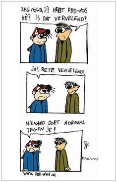 Verhelderende strip over # PDD-NOS