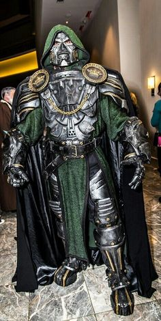 Character: Doctor Doom (Dr. Victor Von Doom) / From: MARVEL Comics 'The Fantastic Four' / Cosplayer: Unknown - COSPLAY IS BAEEE!!! Tap the pin now to grab yourself some BAE Cosplay leggings and shirts! From super hero fitness leggings, super hero fitness shirts, and so much more that wil make you say YASSS!!!