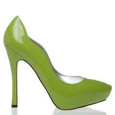 $39.95 green pumps