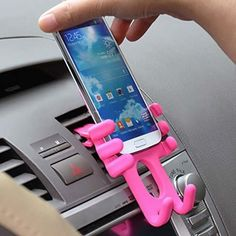 Silicone Doll Mobile Phone Car Holder Mount