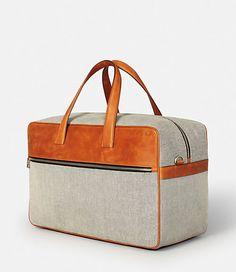 Oxford Leather Fairbanks Duffle - JackSpade