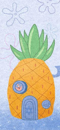 Spongebob Iphone Wallpaper, Cartoon Wallpaper Iphone, Cute Disney Wallpaper, Kawaii Wallpaper, Cute Cartoon Wallpapers, Colorful Wallpaper, Cool Wallpaper, Spongebob Drawings, Cute Patterns Wallpaper