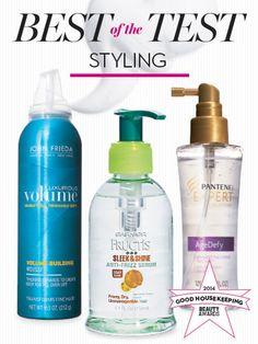 2014 Beauty Awards: Hair All-Stars . Dry hair shampoo options.