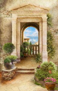 Фрески КЛАССИЧЕСКИЕ « Фото Фреска Miracle Garden, Hindu Deities, Backgrounds Free, 3d Wallpaper, Bedrooms, Photoshop, Joy, Ideas, Beautiful Landscapes