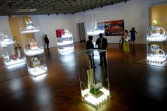 Jeff Koons Artist Retrospective Exhibition Readymades Room Whitney Museum Of American Art New York