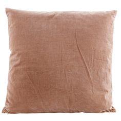 Velv kudde 50x50, nude i gruppen Textil / Plädar & Prydnadskuddar / Prydnadskuddar hos RUM21.se (133061)